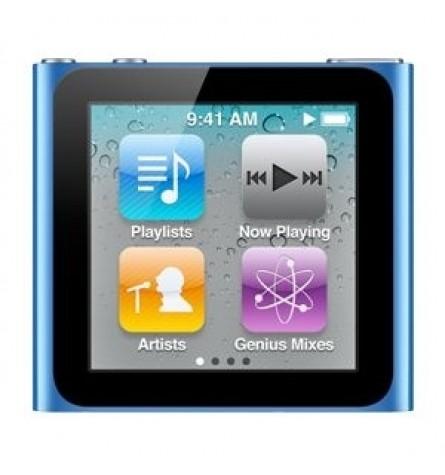 Apple iPod nano 8 GB (6th Generation) - Blue (Manufacturer Refurbished) Original Box - MC689LL/A