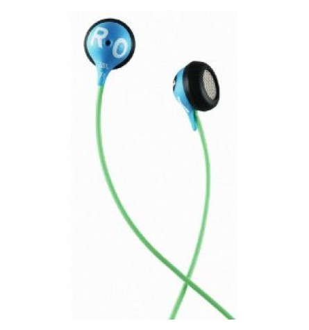 ROXY by JBL Reference 230 Earbud Headphone- Blue/Green