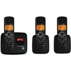 Motorola DECT 6.0 Enhanced Cordless Phone with 3 Handsets and Digital Answering System - L703