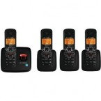 Motorola DECT 6.0 Enhanced Cordless Phone with 4 Handsets and Digital Answering System - L704