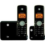 Motorola DECT 6.0 Cordless Phone with 2 Handsets, Digital Answering System and Bluetooth - L512BT