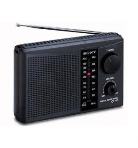 Sony Personal Portable 2-Band AM/FM Radio - ICF-18