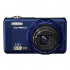 "Olympus 14MP Digital Camera with 12.5x Optical Zoom and 3"" LCD (Blue) - VR-320BL"