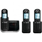 Motorola DECT 6.0 Enhanced Cordless Phone with 3 Handsets and Digital Answering System - L803
