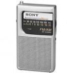 Sony Pocket AM/FM Radio, Silver - ICF-S10MK2