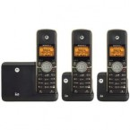 Motorola DECT 6.0 Cordless Phone with 3 Handsets, Digital Answering System and Bluetooth - L513BT