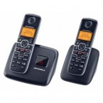 Motorola DECT 6.0 Enhanced Cordless Phone with 2 Handsets and Digital Answering System - L702
