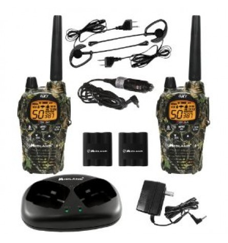 Midland 36-Mile 50-Channel FRS/GMRS Two-Way Radio (Camo) - GXT1050VP4