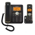 Motorola DECT 6.0 Corded Base Phone with Cordless Handset, Digital Answering System and Bluetooth - L512CBT