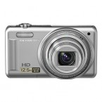 "Olympus 14MP Digital Camera with 12.5x Optical Zoom and 3"" LCD (Silver) - VR-320SL"