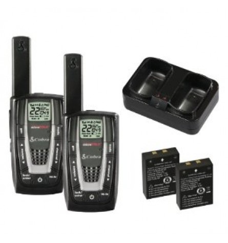Cobra microTalk 27-Mile 22-Channel FRS/GMRS Two-Way Radios - CXR725