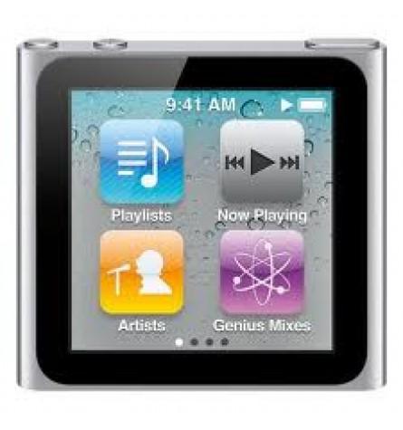 Apple iPod nano 16 GB (6th Generation) - Silver (Manufacturer Refurbished) Original Box - MC526LL/A