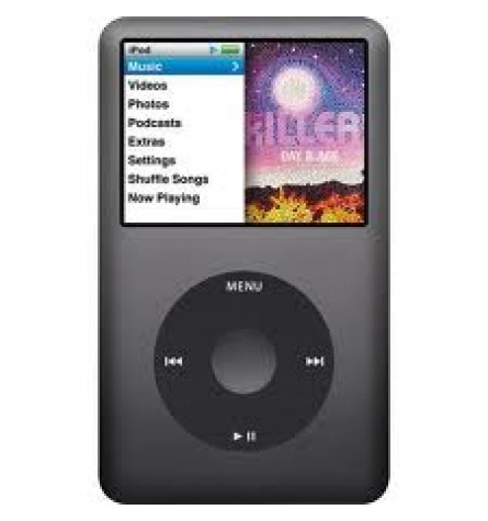 Apple iPod classic 160 GB Digital player - 6th Generation - Black (manufacturer Refurbished) Original Box - MC297LL/A