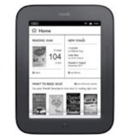 "Barnes & Noble 6"" NOOK Simple Touch  Wi-Fi eReader 2GB (Factory Refurbished) Original Box - BNRV300"